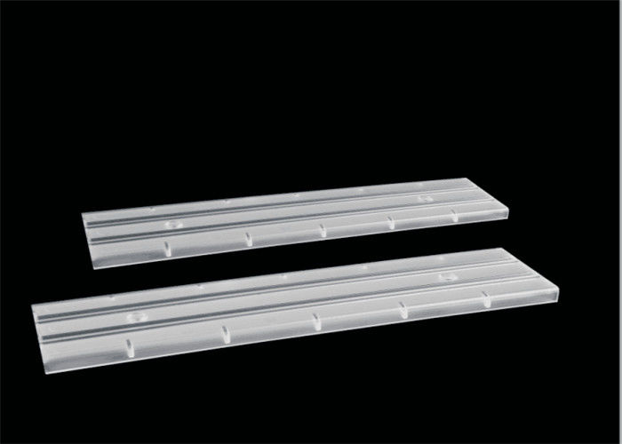 Double Asymmetric Linear LED Lens SMD 3030 Silicone Gasket With 30*90 Degree